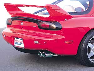 Racing Beat Dual Tip RX7 Exhaust